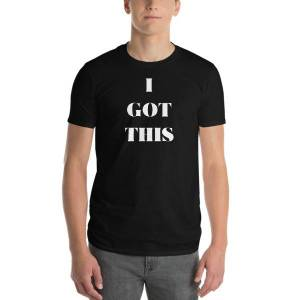 concepttees Concept Tees An Hats,i Got This(White Print) Heather Grey / M