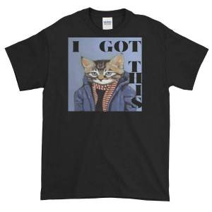 concepttees Concept Tees An Hats,i Got This(Yuppy Cat) Sport Grey / M