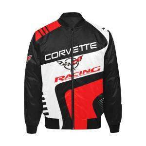 KS Store New Chevrolet Corvette C8.R GTE Bomber Jacket for Adults and Kids  Womens M