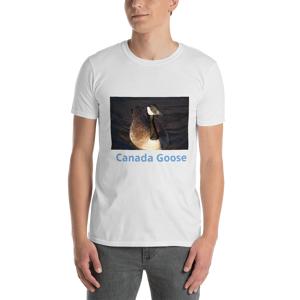 Jersey Kool Canada Goose Photo Short-Sleeve Unisex T-Shirt White / M
