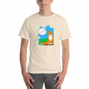 ArtDesignMan Hi Guys -Short Sleeve T-Shirt Sky / 2XL