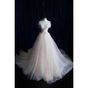 OKProm A-line Wedding Dress,Wedding Dresses,Wedding Dress,Wedding Gown,Bridal Gown white-us14