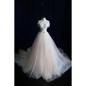 OKProm A-line Wedding Dress,Wedding Dresses,Wedding Dress,Wedding Gown,Bridal Gown white-us2