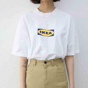 Dejavu Cat Ikea unisex t-shirt M White