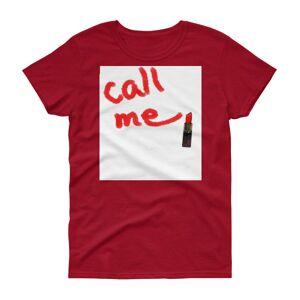 concepttees Concept Tees An Hats,call Me(Lipstick) Coral Silk / XL