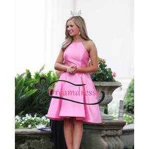 dreamdressy Cute Short Pink Homecoming Dress Party Dress US 14