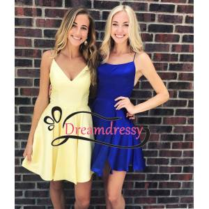 dreamdressy Straps Short Homecoming Dress Party Dress US 14-Color A