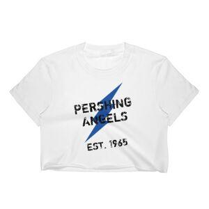 L3 Dezigns PA Lightning Crop Top (Blue Bolt) XL