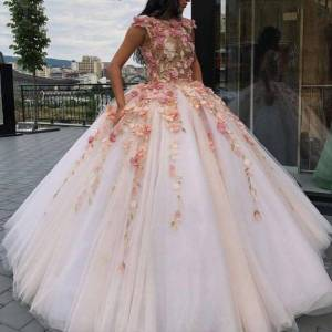dressydances Ball Gown Prom Dresses Pageant Gown Princess Dress US14W