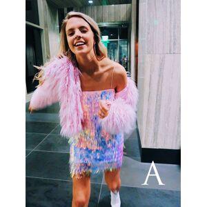 Dressmeet Cute Fashion Sequins Straps Slip Mini Dresses, Party Dress US 14