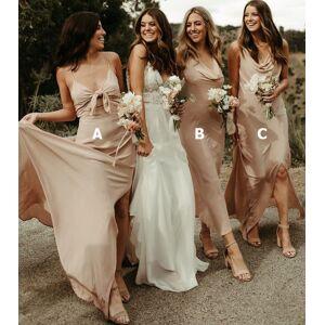 dressydances Casual Bridesmaid Dresses for Wedding Party US6