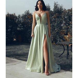 dressydances Light Sage Long Prom Dresses under 100 US14W
