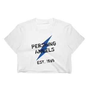 L3 Dezigns PA Lightning Crop Top (Blue Bolt) S