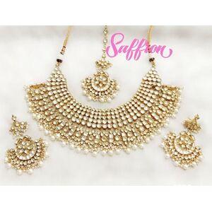 Saffronfashion Rosa Necklace set