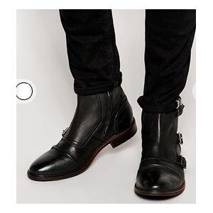 Rangoli Collection Handmade Custom Men Stylish Black Color Boot, Mens Genuine Leather Boot, Sneekers US 11