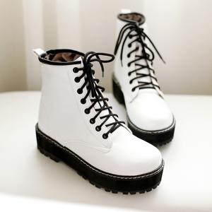 storecosply Fashion students martin boots Black.eu39=245mm