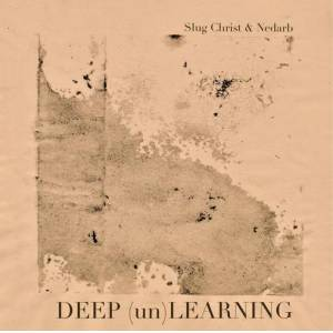 "Blackhouse Records Slug Christ x Nedarb ""Deep (un)Learning"" CD/CS/Shirt T-Shirt/Cassette (Size XL)"