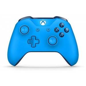 Microsoft Wireless Controller: Blue for Xbox One
