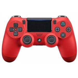 Sony Dualshock 4 Wireless PS4 Controller: Red - for Sony Playstation 4