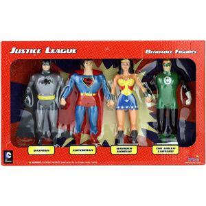 NJ Croce Justice League 4-Piece Bendable Figure Boxed Set