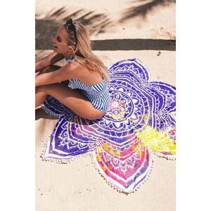 1 Starry Mancha Print Multi-Color Beach Towels