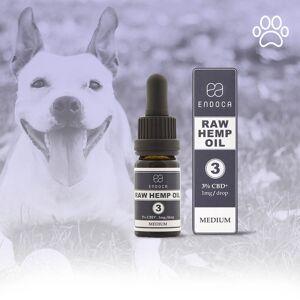 Endoca RAW CBD OIL FOR DOGS 30MG/ML CBD+CBDa