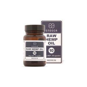 Endoca 10MG RAW CBD CAPSULES (MEDIUM) - 30 Capsules