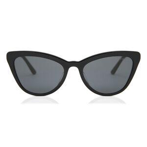 Prada PR 01VSF Asian Fit 1AB5S0 Women's Sunglasses Black Size 56