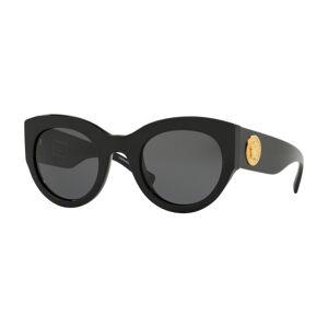 Versace VE4353A Asian Fit GB1/87 Women's Sunglasses Black Size 51
