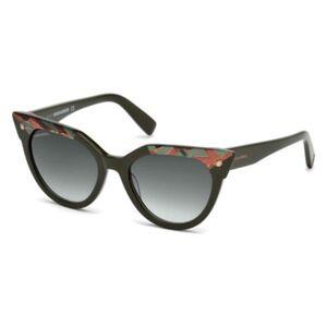 Dsquared2 DQ0277 Eva 98P Women's Sunglasses Green Size 53
