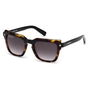 Dsquared2 DQ0285 Kat 56B Men's Sunglasses Tortoise Size 51