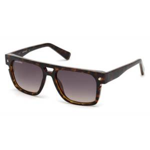 Dsquared2 DQ0294 Victor 52B Men's Sunglasses Tortoise Size 55
