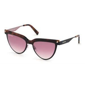 Dsquared2 DQ0302 02T Women's Sunglasses Black Size 53