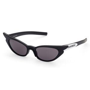 Dsquared2 DQ0371 01F Women's Sunglasses Black Size 53