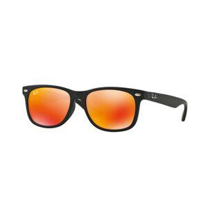 Ray-Ban Junior RJ9052SF Asian Fit 100S6Q Men's Sunglasses Black Size 50