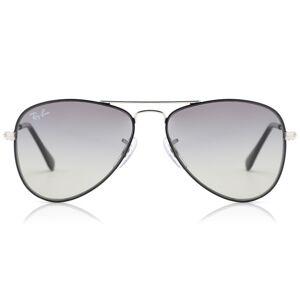 Ray-Ban Junior RJ9506S Aviator 271/11 Kids' Sunglasses Silver Size 50