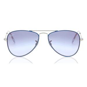 Ray-Ban Junior RJ9506S Aviator 276/X0 Kids' Sunglasses Blue Size 50