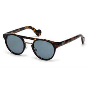 Moncler ML0019 20V Men's Sunglasses Grey Size 50