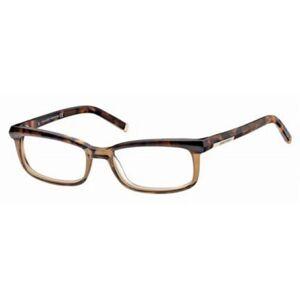 Dsquared2 DQ5034 56B Men's Glasses Tortoise Size 53 - Free Lenses - HSA/FSA Insurance - Blue Light Block Available
