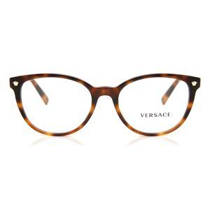 Versace VE3256 5264 Women's Glasses Tortoise Size 52 - Free Lenses - HSA/FSA Insurance - Blue Light Block Available