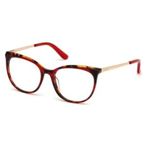 Guess GU 2640 068 Women's Glasses Red Size 53 - Free Lenses - HSA/FSA Insurance - Blue Light Block Available