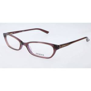 Guess GU 2466 D96 Men's Glasses Brown Size 52 - Free Lenses - HSA/FSA Insurance - Blue Light Block Available