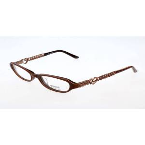 Guess GU 9049 Kids D96 Kids' Glasses Brown Size 45 - Free Lenses - HSA/FSA Insurance - Blue Light Block Available