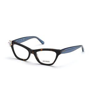 Guess GU 2836 052 Women's Glasses Tortoise Size 51 - Free Lenses - HSA/FSA Insurance - Blue Light Block Available