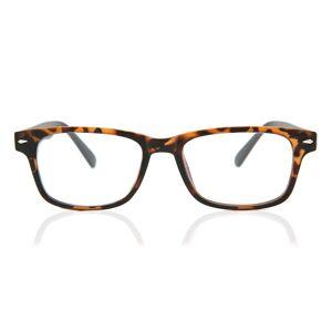 SmartBuy Collection Rectangle Full Rim Plastic Men's Glasses Discount Online Brown Size 50, Free Lenses, HSA/FSA Insurance, Blue Light Block Available - SmartBuy Collecti