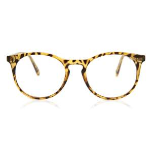 SmartBuy Collection Round Full Rim Plastic Men's Glasses Discount Online Gold Size 50, Free Lenses, HSA/FSA Insurance, Blue Light Block Available - SmartBuy Collection