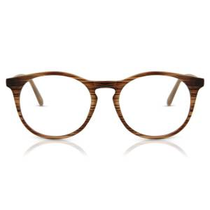 SmartBuy Collection Round Full Rim Plastic Men's Glasses Discount Online Brown Size 50, Free Lenses, HSA/FSA Insurance, Blue Light Block Available - SmartBuy Collection
