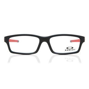 Oakley OX8111 CROSSLINK YOUTH Asian Fit 811104 Men's Glasses Black Size 53 - HSA/FSA Insurance - Blue Light Block Available