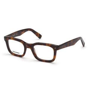 Dsquared2 DQ5328 052 Men's Glasses Tortoise Size 49 - Free Lenses - HSA/FSA Insurance - Blue Light Block Available
