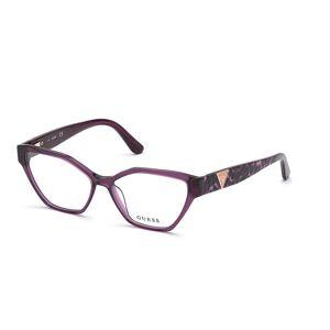 Guess GU 2827 083 Women's Glasses Violet Size 55 - Free Lenses - HSA/FSA Insurance - Blue Light Block Available
